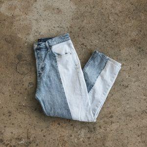 Gap Colorblock Jeans